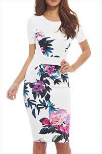 AX Paris Floral Bodycon Dress