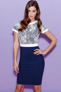 Paper Dolls Lace Top Dress