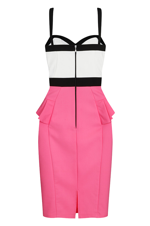 Paper Dolls Colour Block Dress