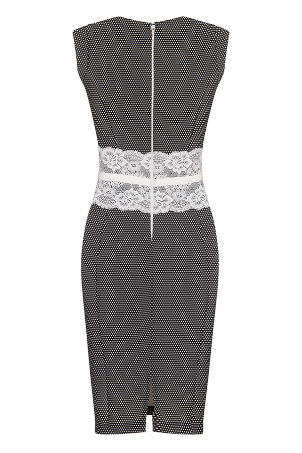 Paper Dolls Lace Bodycon Dress