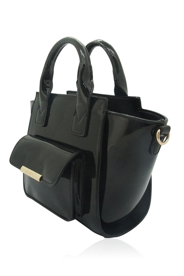 Brooke Patent Tote Bag
