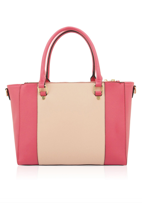 Grace Pink and Nude Tote Bag