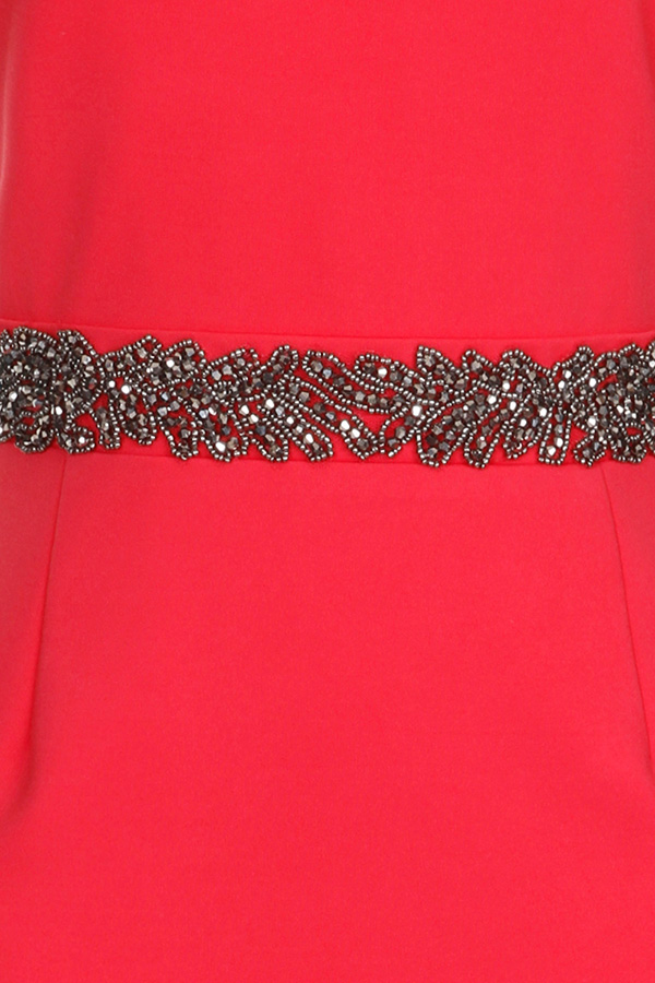 Little Mistress Embellished Waist Dress