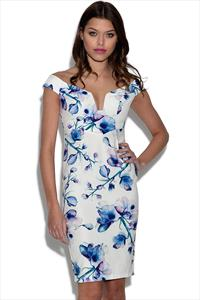 Ginger Fizz Blue Monday Dress