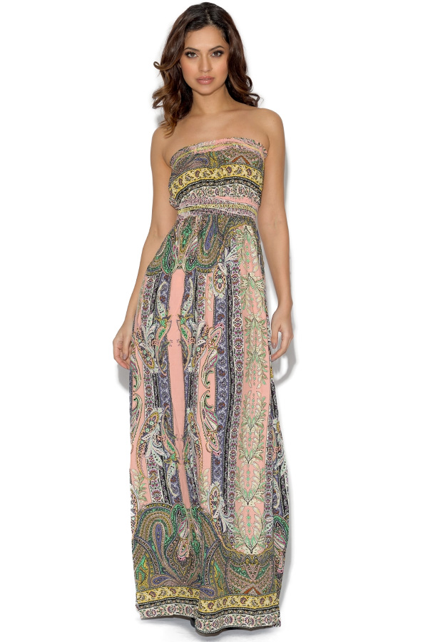 AX Paris Paisley Print Maxi Dress