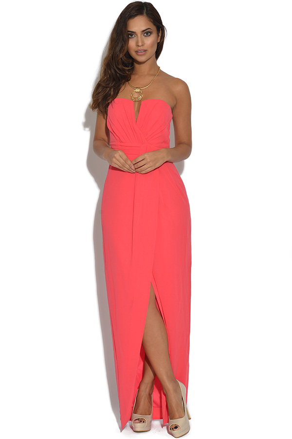 Sweetheart Bandeau Asymmetric Dress