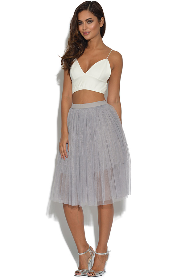 vestry lydia bright lilac grey tulle