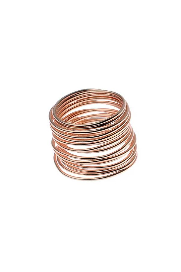 Stacked Multi Effect Ring