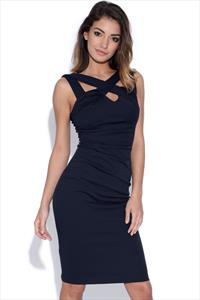 Strappy Front Bodycon Dress