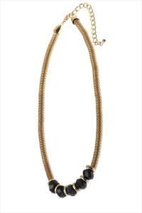 Statement Jet Black Collection Necklace