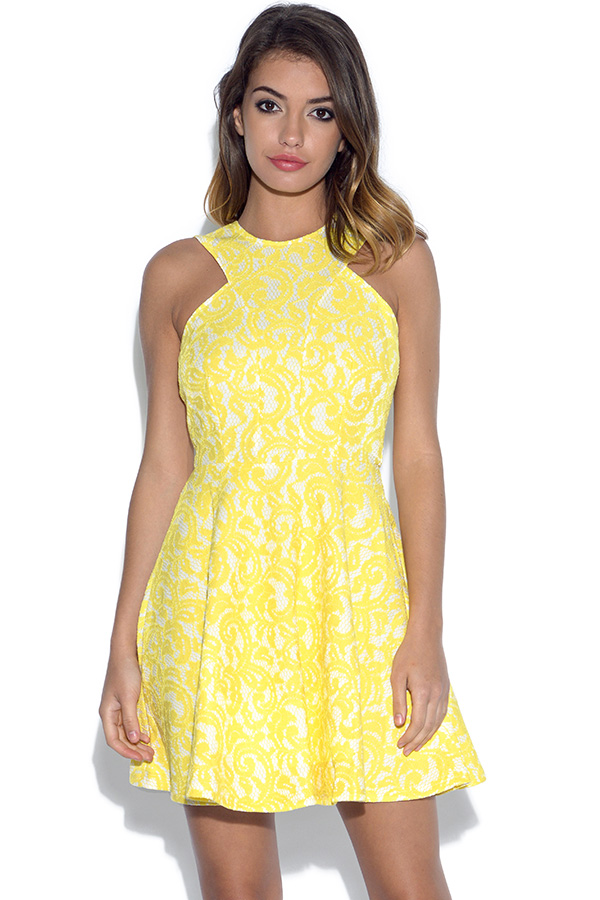 AX Paris Paisley Lace Skater Dress