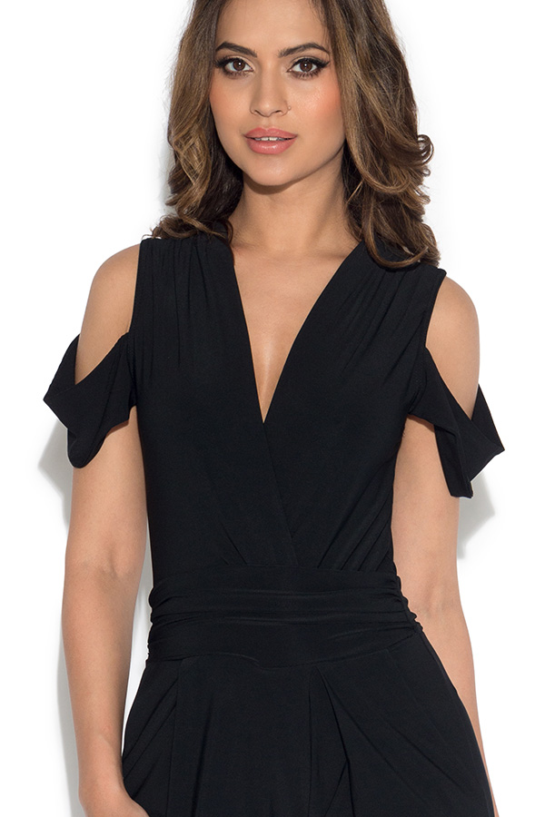 Cold Shoulder Jumpsuit