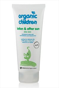 Green People Organic Children Aloe Vera Lotion And After Sun