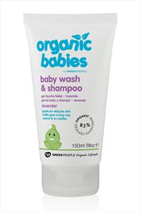 Green People Organic Babies Baby Wash and Shampoo Lavender