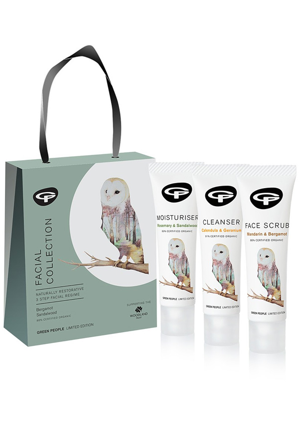 Green People Limited Edition OWL Facial Care Collection