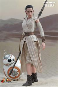1:6 Rey and BB-8 Figure Set Star Wars Force Awakens
