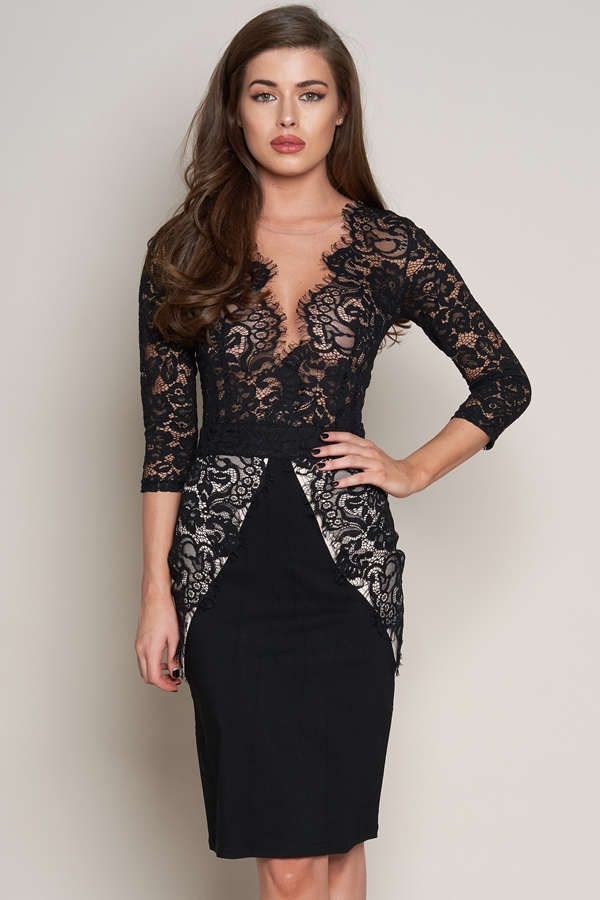 The Christine Lace Dress