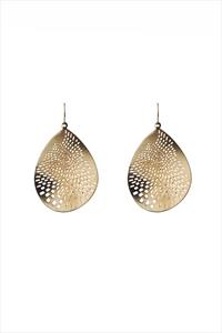 Paradise Disc Drop Earrings