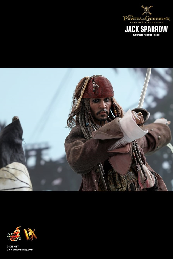 JACK SPARROW PIRATES OF THE CARIBBEAN DEAD MEN TELL NO TALES