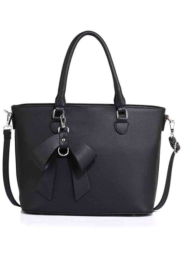 Ariana Tote with Bow Charm