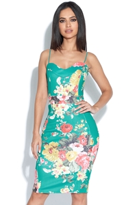 Totally Tropical Bodycon Dress