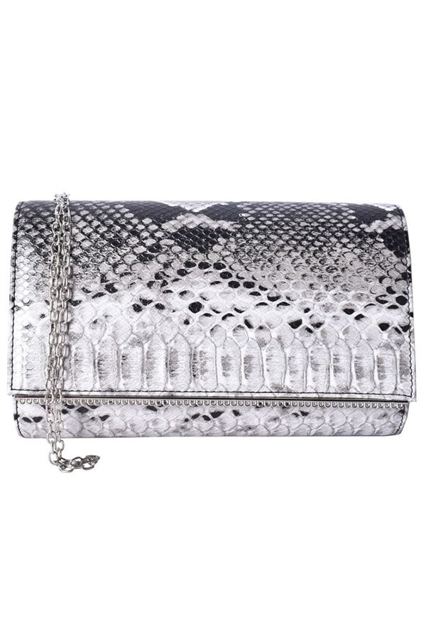 Animal Print Clutch Bag