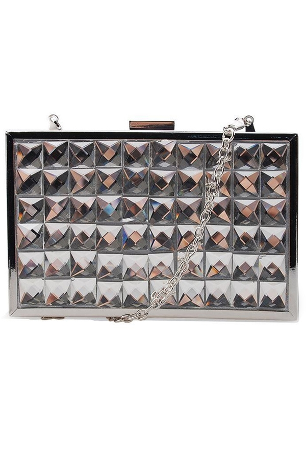 Mirrored Clutch Bag